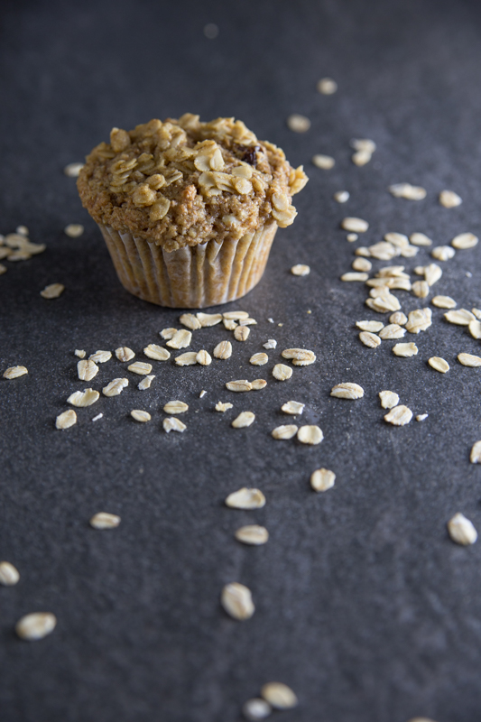 Apple Cinnamon Oatmeal Muffin
